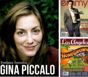 Interview with freelance journalist, Gina Piccalo