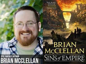 Interview with epic fantasy author Brian McClellan